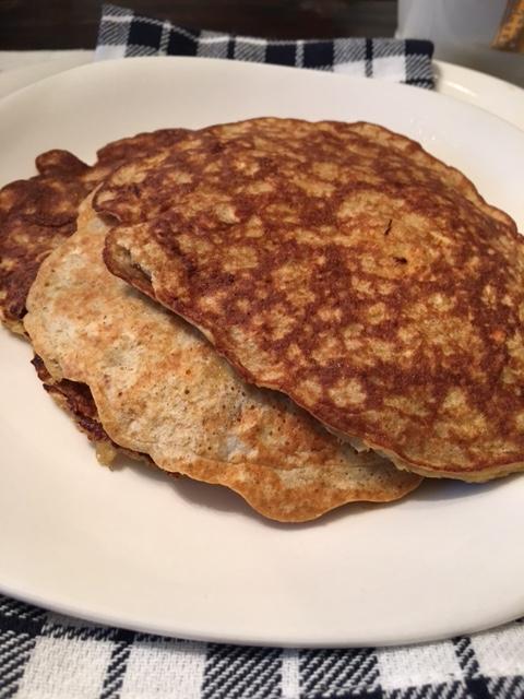 two ingredient pancakes