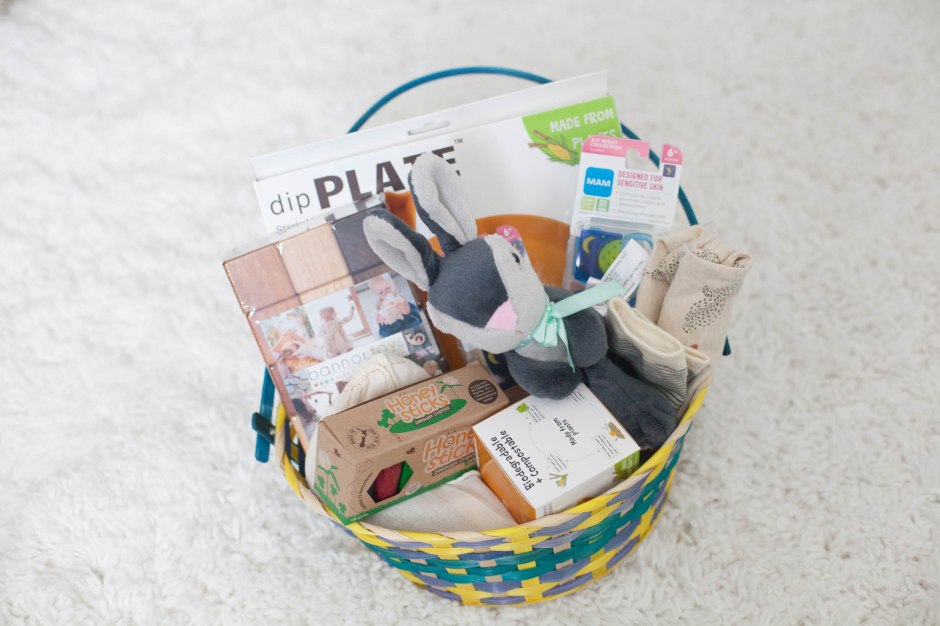 Baby easter baskets babies first easter basket negle Images